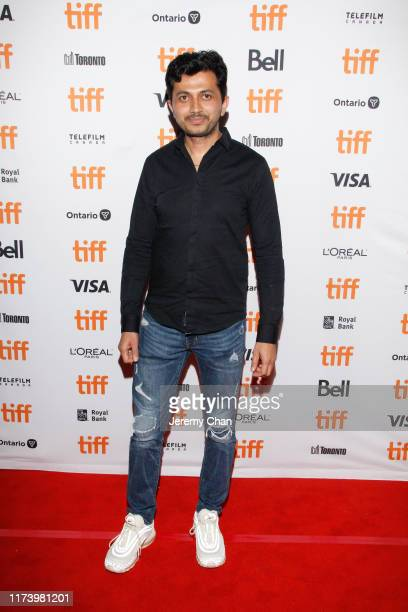 """Ajay Rai attends the """"The Elder One"""" photo call during the 2019 Toronto International Film Festival at Winter Garden Theatre on September 11, 2019 in..."""