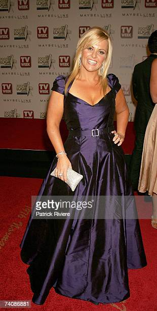 Ajay Rochester from The Biggest Loser arrives at the 2007 TV Week Logie Awards at the Crown Casino on May 6 2007 in Melbourne Australia The annual...