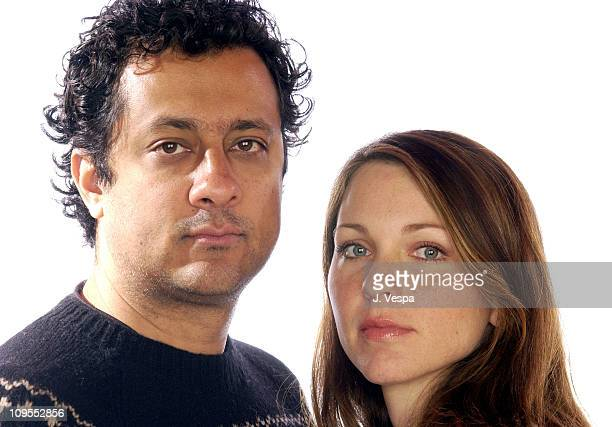 Ajay Sahgal Kelli Williams during 2002 No Dance Film Festival 'It's a Shame About Ray' Portraits at Harry O's in Park City Utah United States