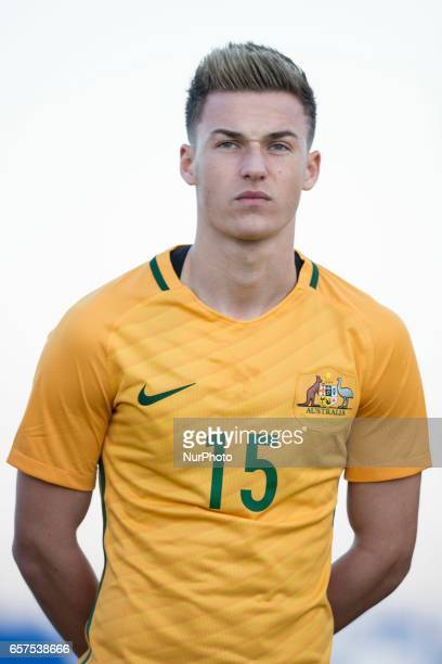 Ajdin Hrustic during the friendly match of national teams U21 of Austria vs Australia at Pinatar Arena on March 24 2017 in Murcia Spain