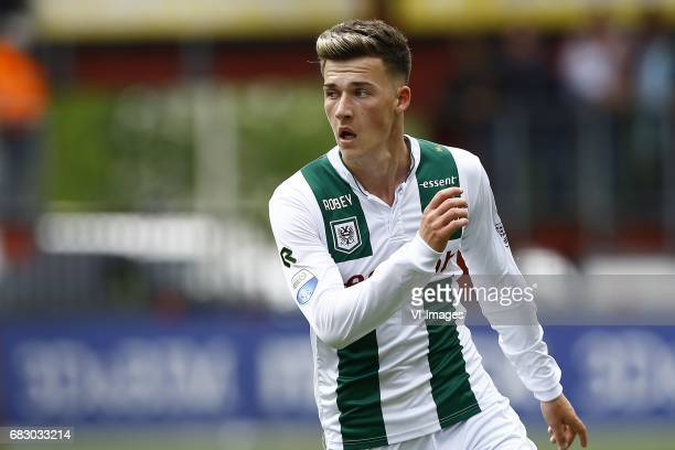 Ajdin Hrustic of FC Groningenduring the Dutch Eredivisie match between FC Twente and FC Groningen at the Grolsch Veste on May 14 2017 in Enschede The...