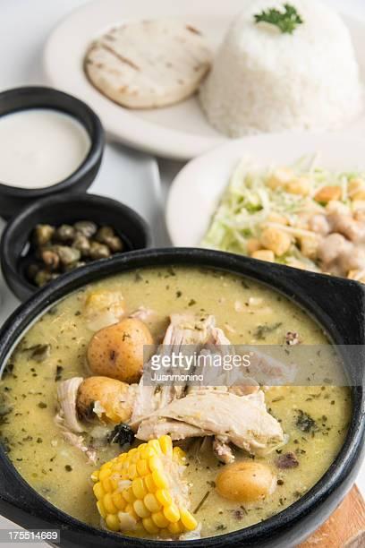 Ajiaco (colombian chicken potato soup)