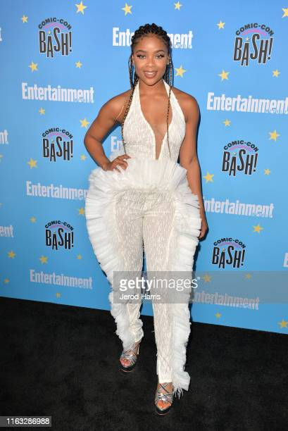 Ajiona Alexus attends Entertainment Weekly ComicCon Celebration at Float at Hard Rock Hotel San Diego on July 20 2019 in San Diego California