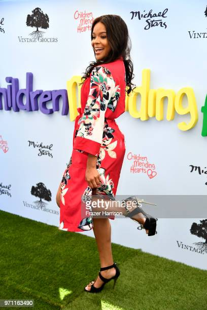 Ajiona Alexus attends the 10th Annual Empathy Rocks Fundraiser at Private Residence on June 10 2018 in Bel Air California