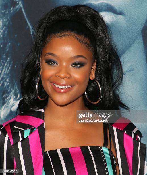 Ajiona Alexus attends Universal Pictures' Special Screening Of 'Breaking In' on May 01 2018 in Los Angeles California