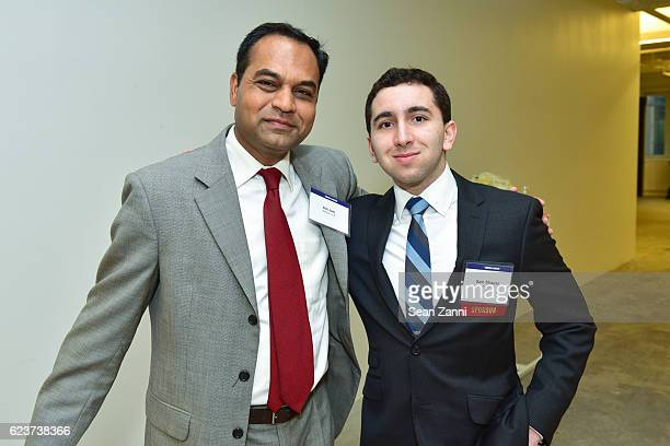 Ajit Jain and Sam Strauss attends The Commercial Observer Financing Commercial Real Estate at 666 Fifth Avenue on November 15 2016 in New York City
