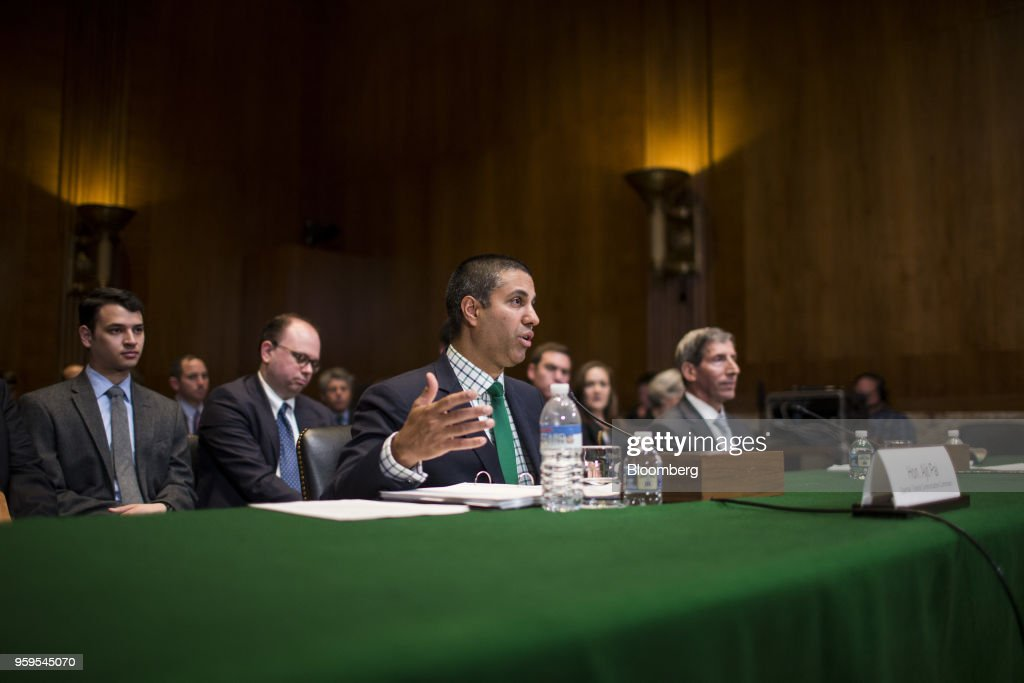 CC Chairman Ajit Pai Testifies On Capitol Hill After Senate Democrats Won A Vote To Preserve Net Neutrality