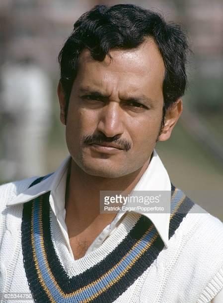 Ajit Wadekar of India during the 1974 tour of England circa April 1974