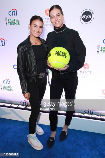 Ajla Tomljanovic attends the Citi Taste Of Tennis Indian Wells on March 04 2019 in Indian Wells California