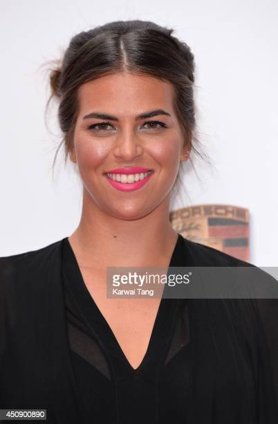 Ajla Tomljanovic attends the WTA PreWimbledon party at Kensington Roof Gardens on June 19 2014 in London England