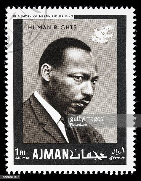 Ajman Martin Luther King postage stamp