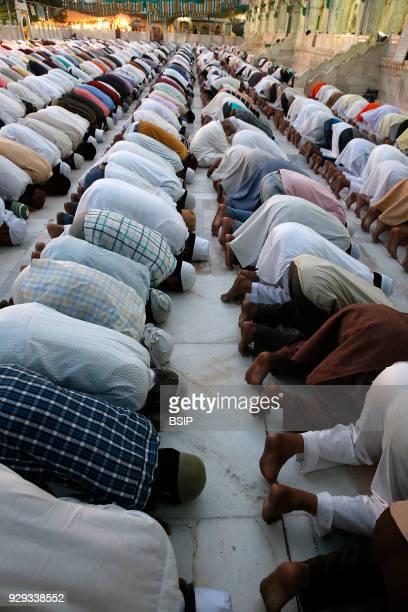 Ajmer Sharif dargah Rajasthan Evening prayer India