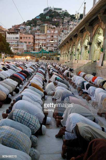 Ajmer Sharif dargah Rajasthan Evening prayer India