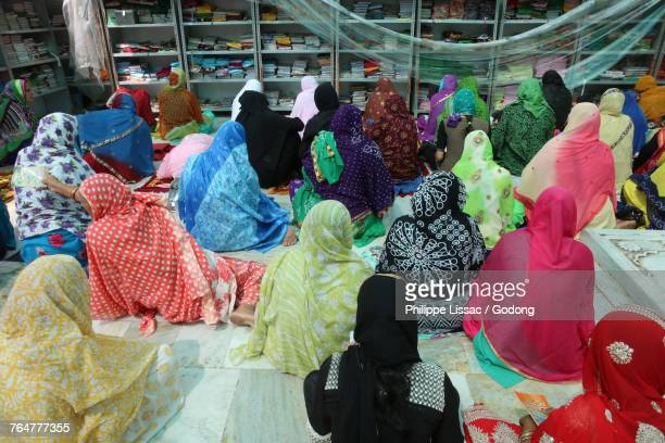 Ajmer Sharif dargah, Rajasthan. Womens section. India.