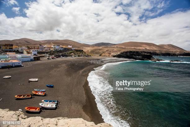ajuy on fuerteventura - atlantik stock pictures, royalty-free photos & images