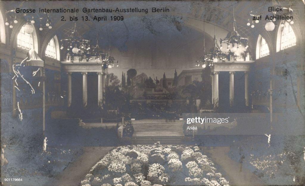 Ak Berlin ak berlin charlottenburg große internationale gartenbauausstellung