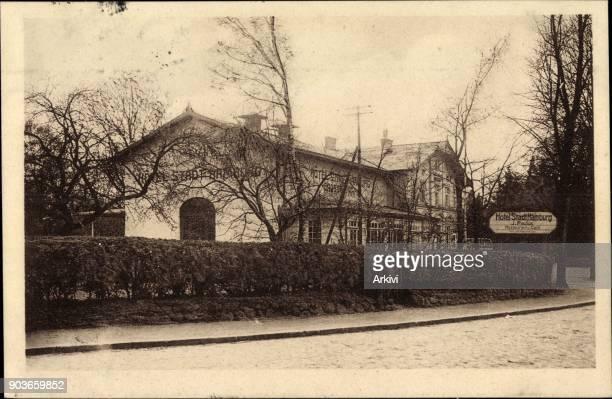 Ak Hamburg Wandsbek Volksdorf Hotel Stadt Hamburg Bes J Paulus gelaufen 1927 Stempelspur sonst guter Zustand
