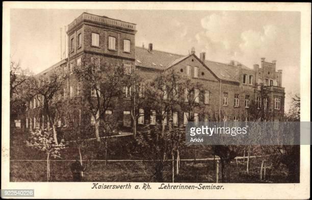 Ak Kaiserswerth Düsseldorf Rhein Lehrerinnen Seminar