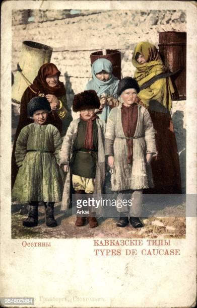 Ak Types de Caucase Kaukasische Typen Russische Bauern
