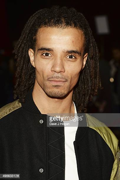 Akala attends the MOBO Awards at First Direct Arena on November 4 2015 in Leeds England