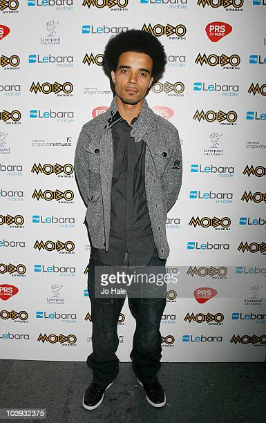 Akala attends the Mobo Awards Launch at the Mayfair Hotel on September 8 2010 in London England