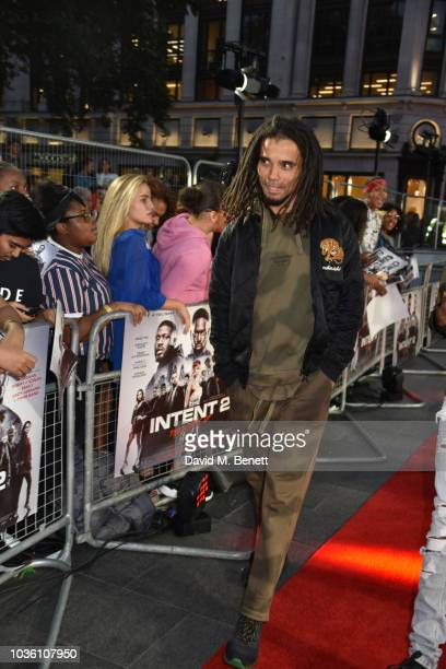 Akala attends then World Premiere of 'The Intent 2 The Come Up' at Cineworld Leicester Square on September 19 2018 in London England