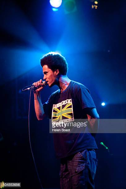 Akala performs on stage during fundraising event 'Party For Pakistan' at O2 Islington Academy on September 29 2010 in London England