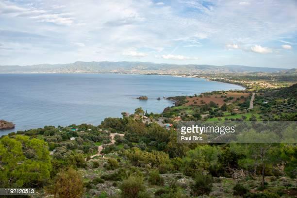 akamas peninsula, in paphos district, cyprus - アカマス半島 ストックフォトと画像