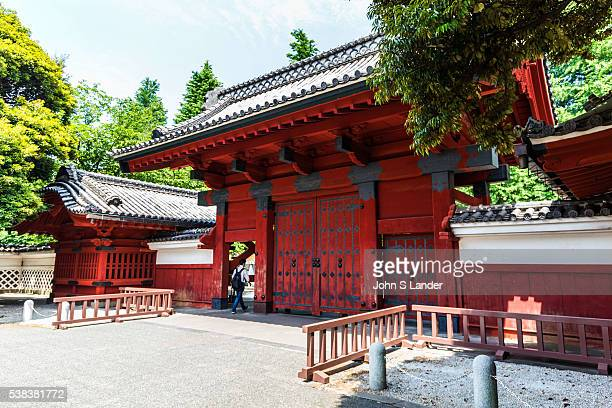 Akamon Gate is a symbol of the University of Tokyo is also an important national cultural treasure The gate was built to welcome Yasuhime the...