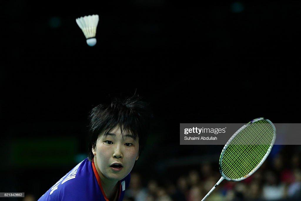 Singapore Open Badminton : News Photo