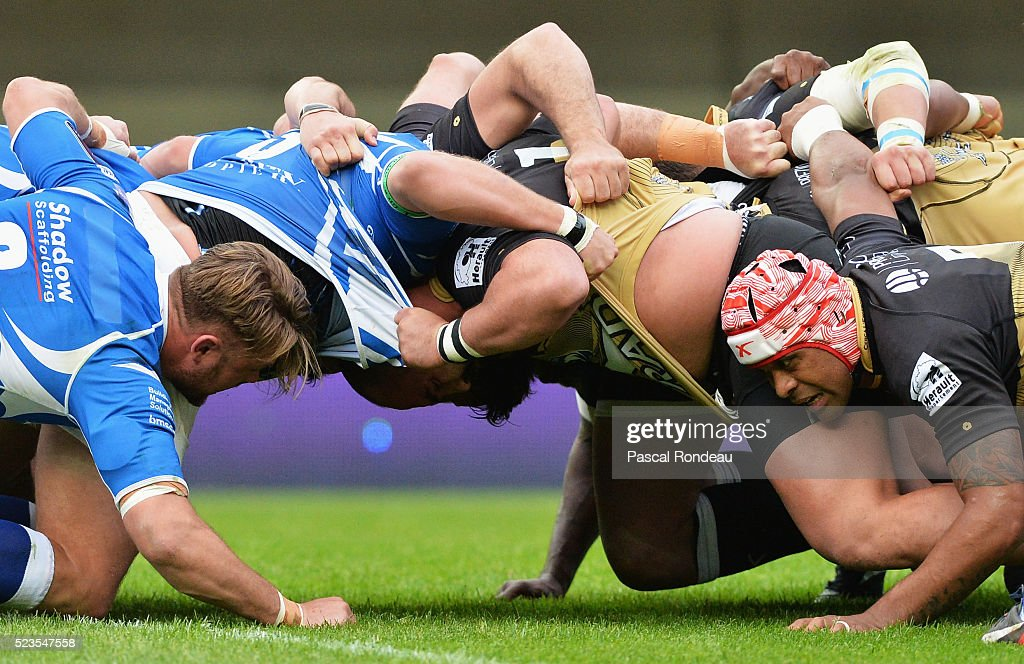 Montpellier v Newport Gwent Dragon - European Rugby Challenge Cup Semi Final : News Photo