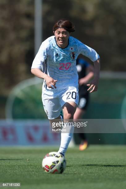 Akari Shiraki during the preseason friendly match of team national woman under 23 between USA vsJapan La Manga Club Murcia SPAIN 2nd of march of 2017