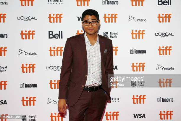 Akash Sherman attends the 'Clara' premiere during 2018 Toronto International Film Festival at Ryerson Theatre on September 10 2018 in Toronto Canada