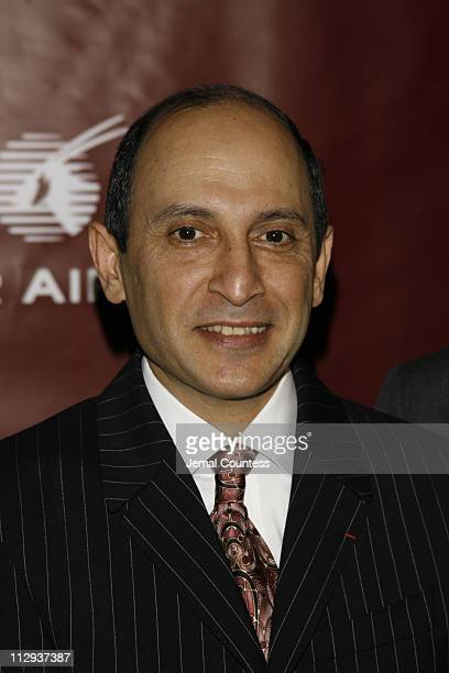 Akbar Al Baker CEO of Qatar Airlines during Qatar Airways Host Gala Event to Celebrate Inaugural Flights to NYC at Frederick P Rose Hall in New York...