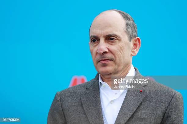 Akbar Al Baker CEO of Qatar Airways during the 2018 FIA Formula E Championship Qatar Airways Paris E Prix on April 28 2018 in Paris France