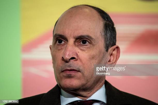 Akbar Al Baker chief executive officer of Qatar Airways looks on at the 20th anniversary of Oneworld airline alliance in London UK on Friday Feb 1...