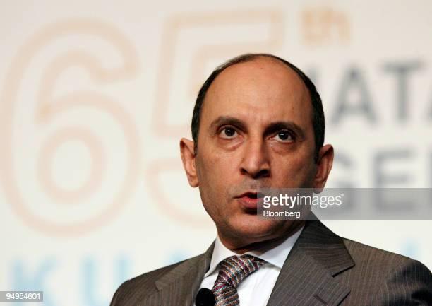 Akbar Al Baker chief executive officer of Qatar Airways Ltd speaks at the International Air Transport Association annual meeting in Kuala Lumpur...