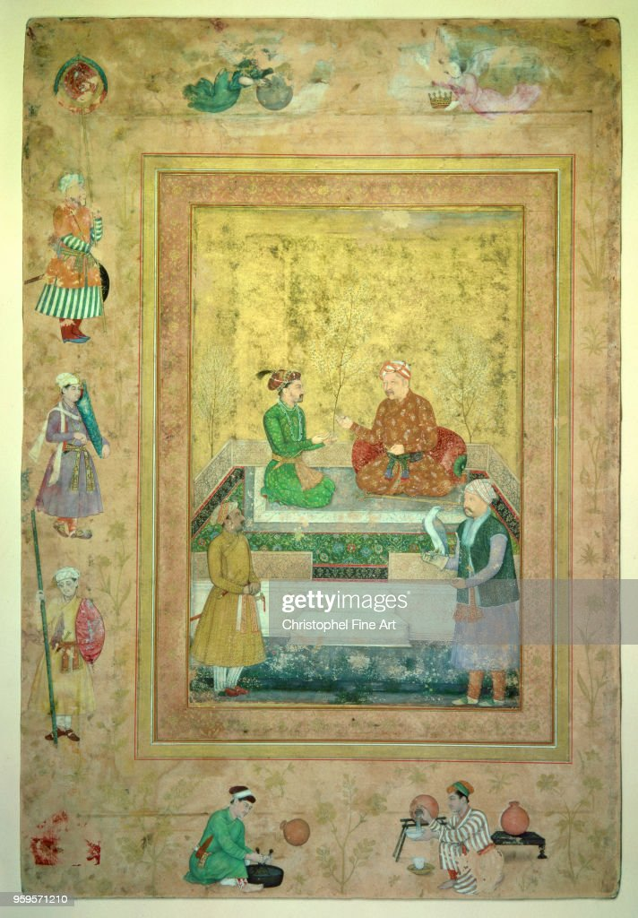 Akbar and shah jahan : News Photo