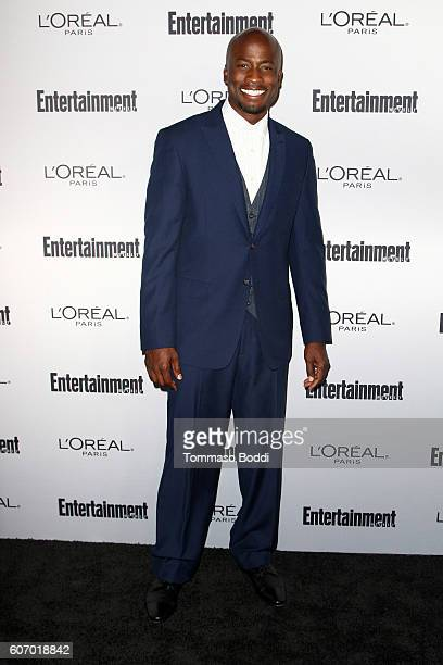 Akbar Gbajabiamila attends the Entertainment Weekly's 2016 PreEmmy Party held at Nightingale Plaza on September 16 2016 in Los Angeles California