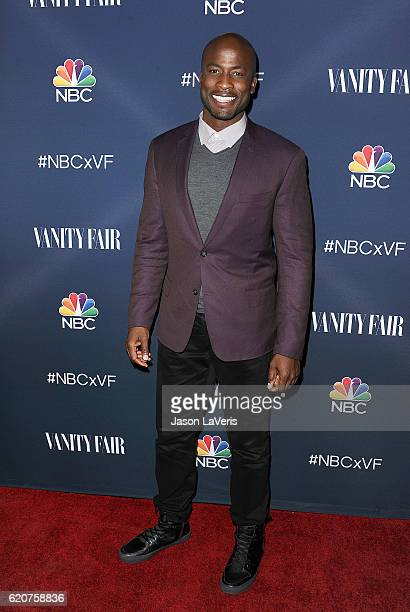 Akbar Gbajabiamila attends the NBC and Vanity Fair toast to the 20162017 TV season at NeueHouse Hollywood on November 2 2016 in Los Angeles California