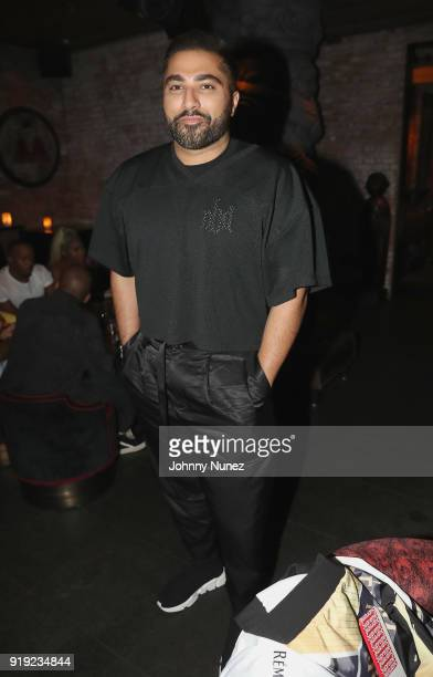 Akbar Hamid attends as Remy Martin Presents The Nike x Revolve Party at Tao on February 16 2018 in West Hollywood California