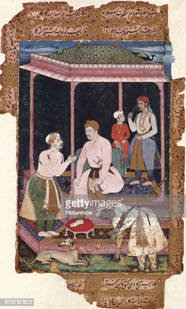 Akbar in Old Age 1604 Das Manohar 1604