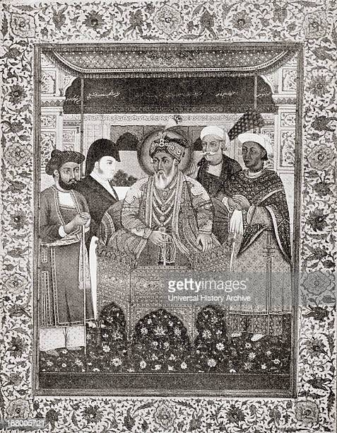 Akbar Shah Ii Aka Mirza Akbar 1760–1837 King Of Delhi And Sir Thomas Theophilus Metcalfe 4Th Baronet 1795 To 1853 From The Book Short History Of The...