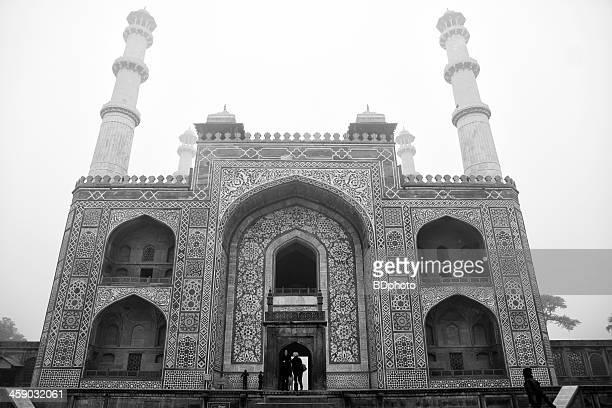 grabmal von akbar dem großen, jaipur, indien - mausoleum stock-fotos und bilder