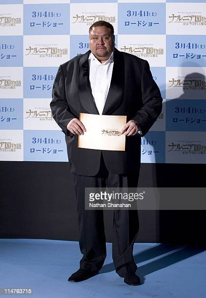 Akebono during 'The Chronicles of Narnia The Lion the Witch and the Wardrobe' Tokyo Premiere at Nippon Budokan in Tokyo Japan