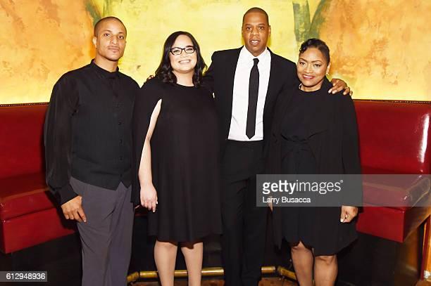 Akeem Browder Nicole Browder Rapper Shawn 'JAY Z' Carter and Venida Browder attend Shawn 'JAY Z' Carter the Weinstein Company and Spike TV's...