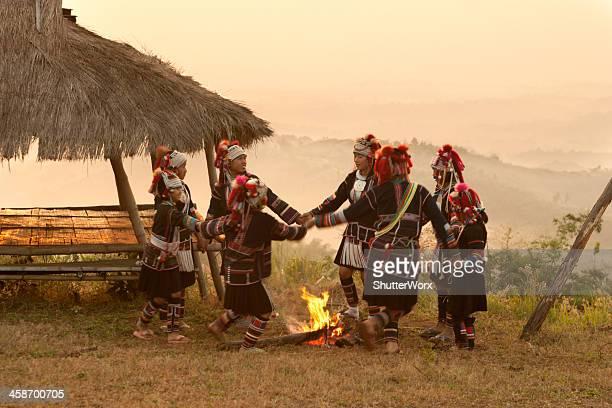Akha Hill Tribe Children