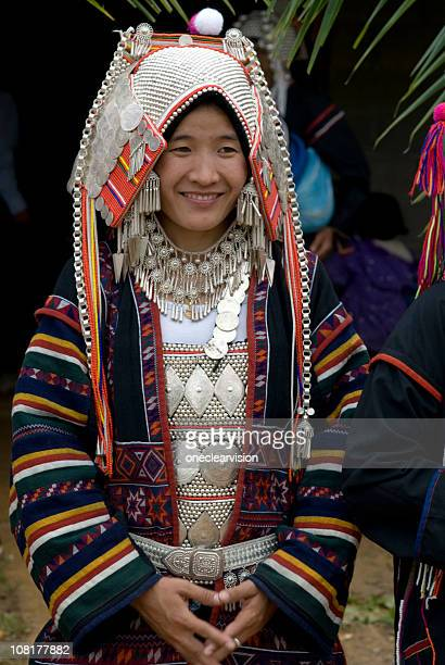 Akha Hill Tribe Woman 01