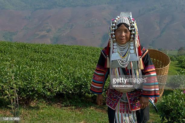 Akha Tea Pickers