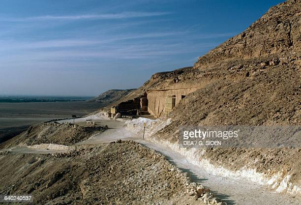 Akhenaten's Royal necropolis Tell elAmarna Egypt Egyptian Civilisation New Kingdom Dynasty XVIII
